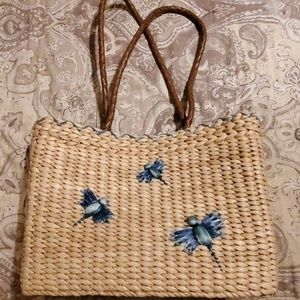 Large Straw Tote